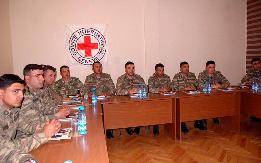 Beynəlxalq humanitar hüquq üzrə təlimatçıların təlim kursu keçirilir