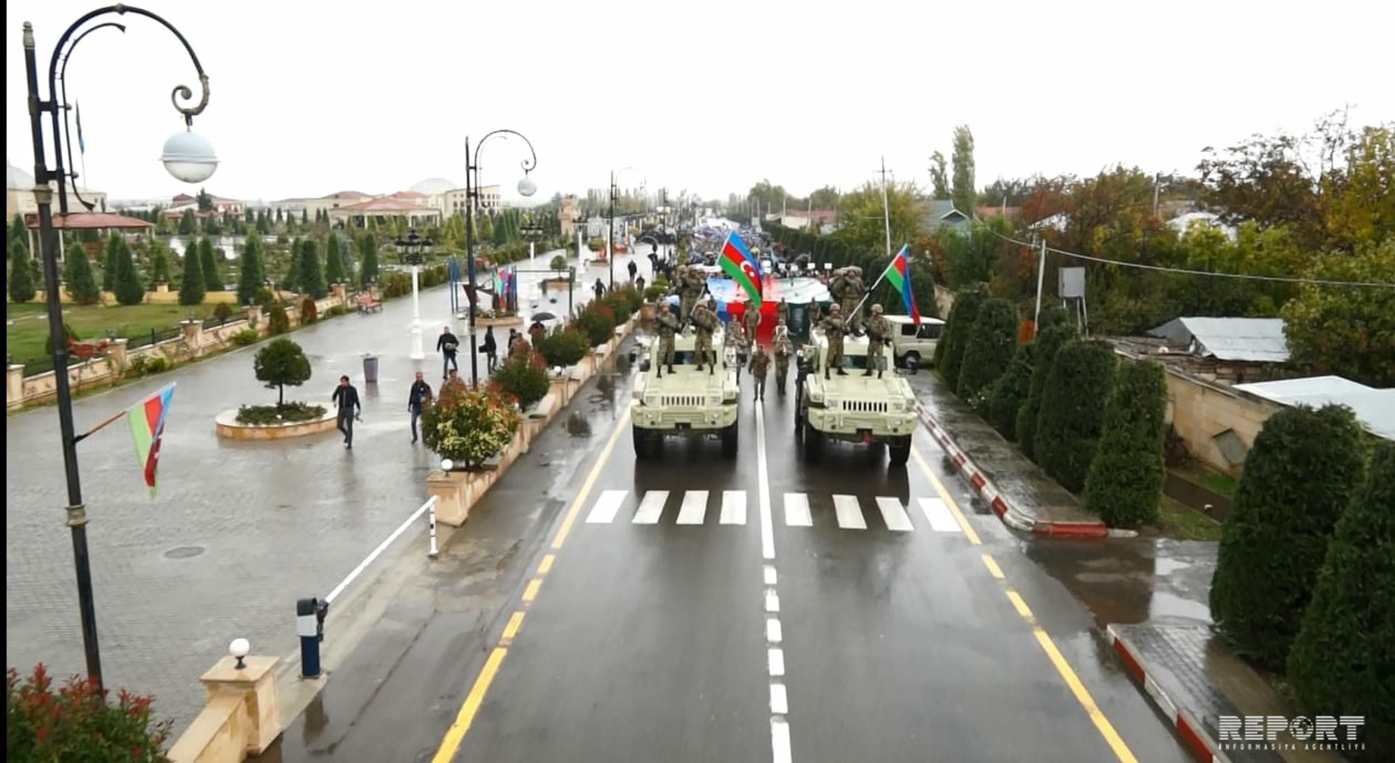 Füzulidə Bayraq yürüşü keçirilib - FOTO - VİDEO - YENİLƏNİB