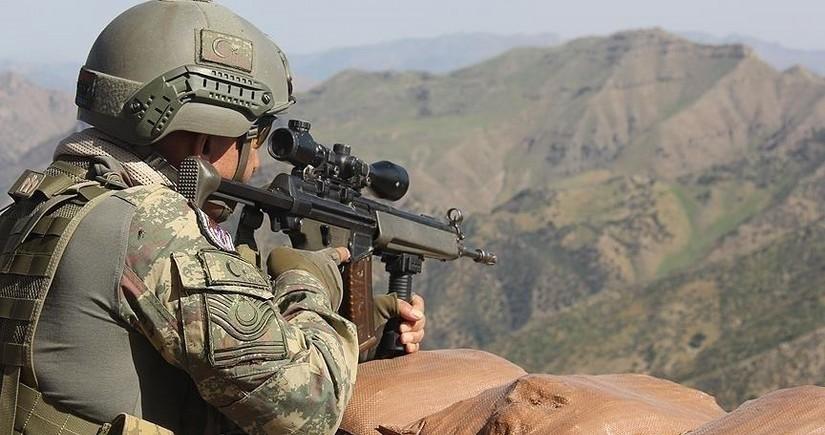 Türkiyə xüsusi təyinatlıları Suriyada terrorçuları zərərsizləşdirdi