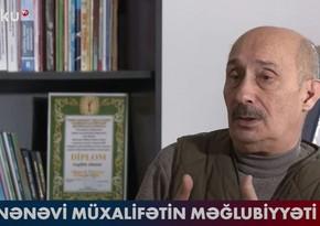 """Zərdüşt Əlizadə: """"Ənənəvi müxalifətin məntiqi düşünmə qabiliyyəti yoxdur"""" - VİDEO"""
