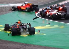 Formula 1: Macarıstan Qran-prisində kütləvi qəza baş verib