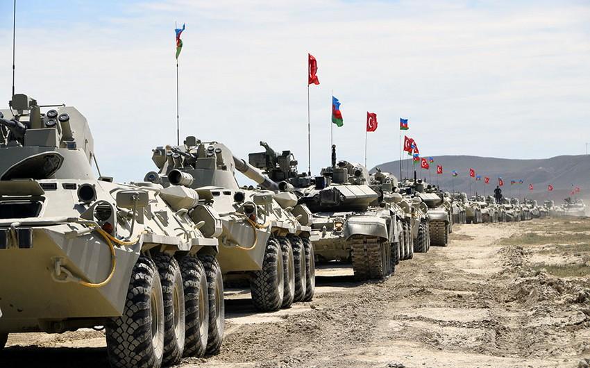 Azərbaycan-Türkiyə birgə taktiki təlimləri sona çatıb - VİDEO