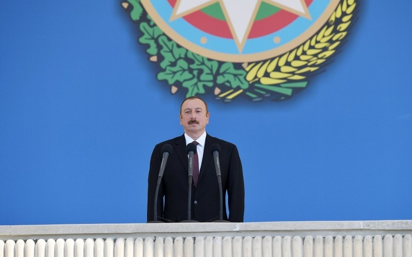 President: One of the most important decisions of ADR was decision on creation of Azerbaijani army