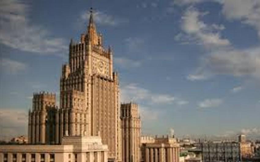 Rusiya XİN: Türkiyə Rusiya ilə enerji sahəsində əməkdaşlıqda maraqlıdır
