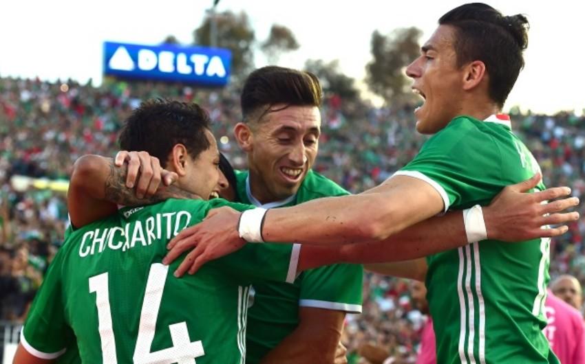 Meksika Yamaykaya qalib gələrək Amerika Kubokunun 1/4 finalına çıxıb – VİDEO