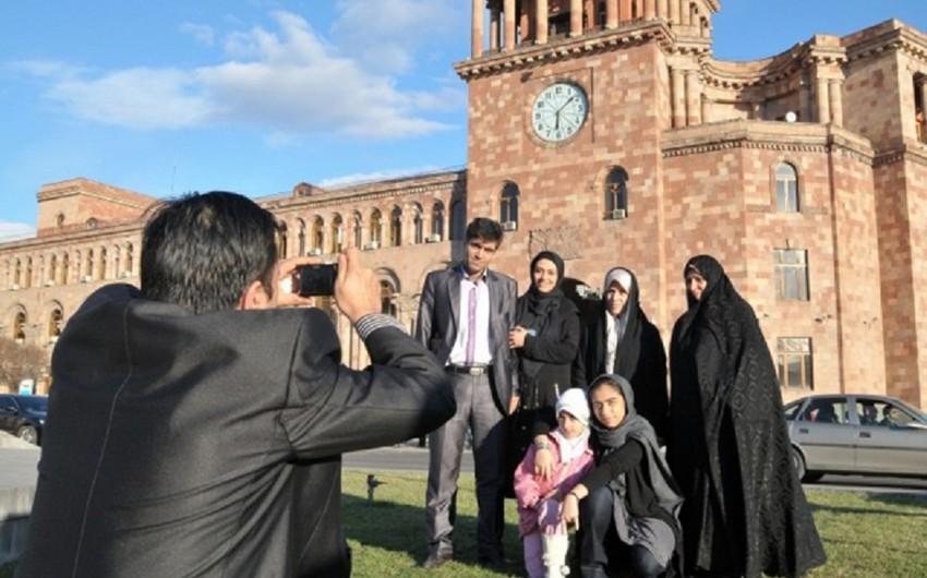 İrandan Ermənistana səfər edən turistlərin sayı 30 faiz artıb