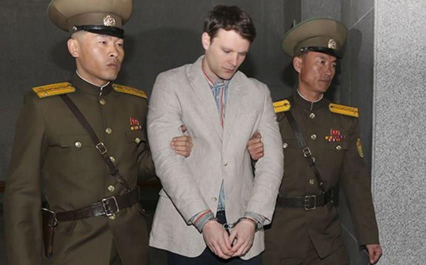 Şimali Koreyanın azad etdiyi amerikalı tələbə ölüb