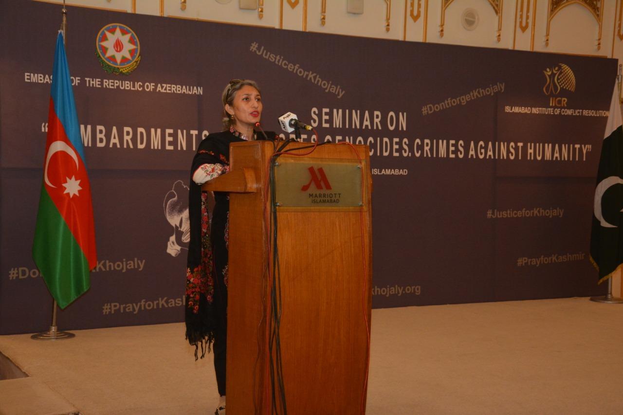 Xocalı Soyqırımı Pakistanda yad edildi - FOTO