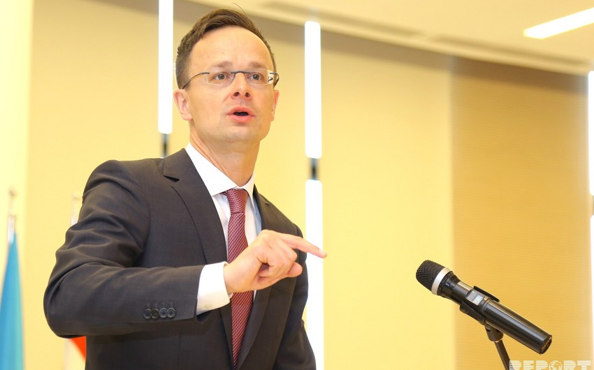 Hungarian Foreign Minister: There is a solid base for strengthening cooperation with Azerbaijan