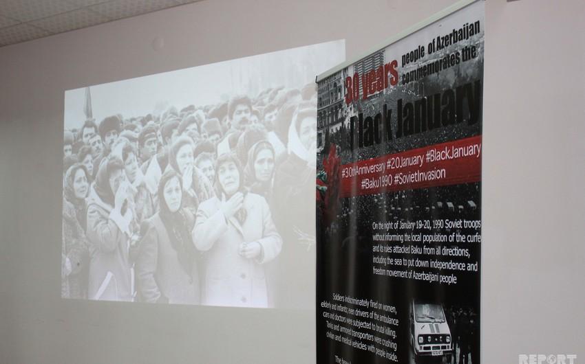 Gürcüstanda 20 Yanvar faciəsinin 30-cu ildönümünə həsr olunan anım tədbiri keçirilib