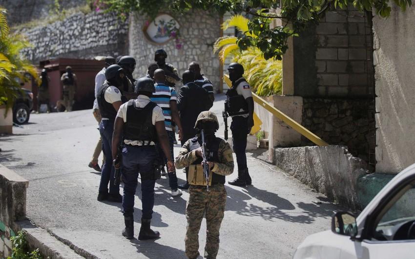 Haiti prezidentini öldürməkdə şübhəli bilinən şəxslər saxlanılıb