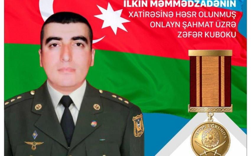 Şəhid İlkin Məmmədzadənin xatirəsinə beynəlxalq turnirin açılışı olub