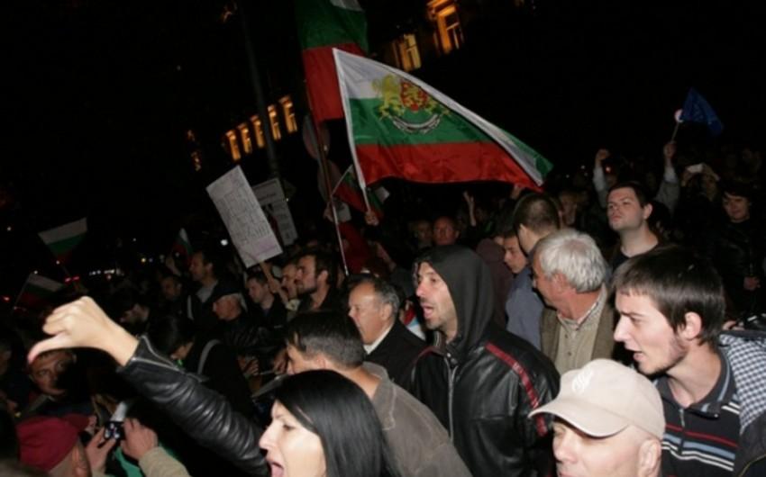 У посольства Турции в Софии прошла акция протеста