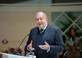 Ermənistan prezidenti baş qərargahın rəisi ilə görüşüb