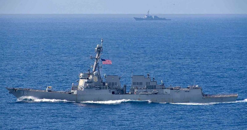 US launches largest naval exercise since Cold War