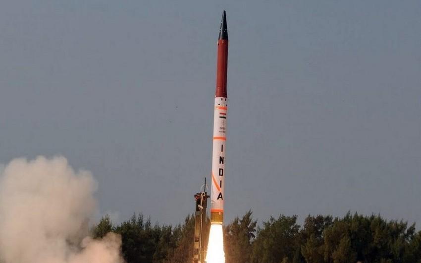 Индия провела испытания баллистической ракеты, способной нести ядерный заряд