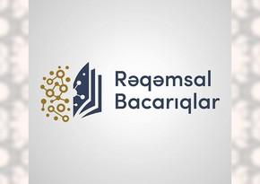 """""""Rəqəmsal bacarıqlar"""" layihəsinin əhatə dairəsi genişlənir"""