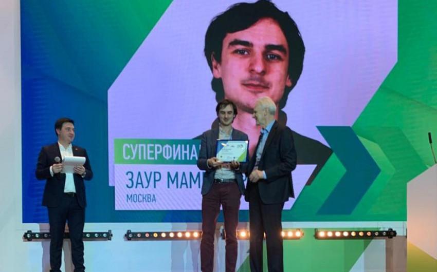 Zaur Məmmədyarov Rusiyada müsabiqənin qalibi oldu