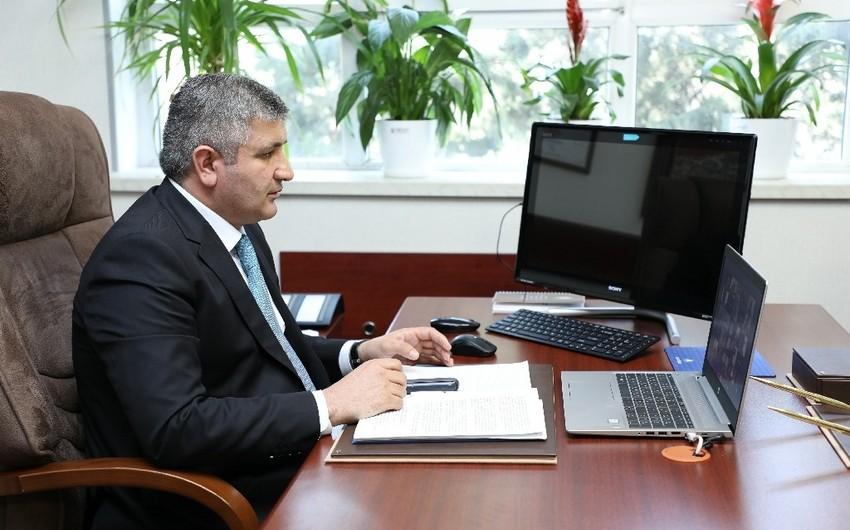 """""""Azəriqaz"""" onlayn forumlarda iştirak edir"""