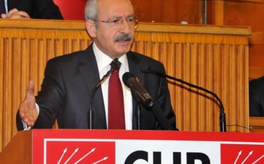 Kamal Kılıcdaroğlu: Müxalifət partiyalarının öz aralarında koalisiya qurması mümkün deyil