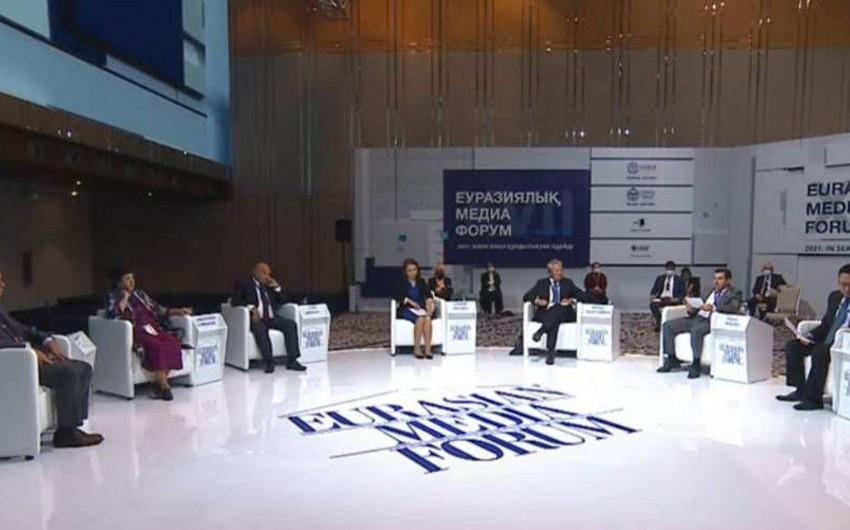 Nur-Sultanda XVII Avrasiya Media Forumu başlayıb