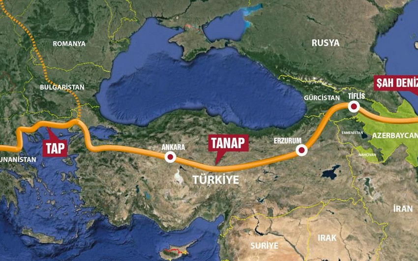 55 % of TANAP construction completed