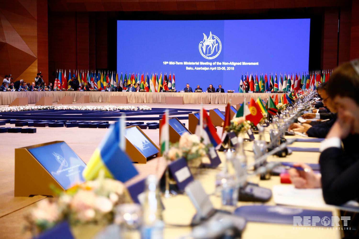 Senior Officials Meeting of Non-Aligned Movement starts in Baku