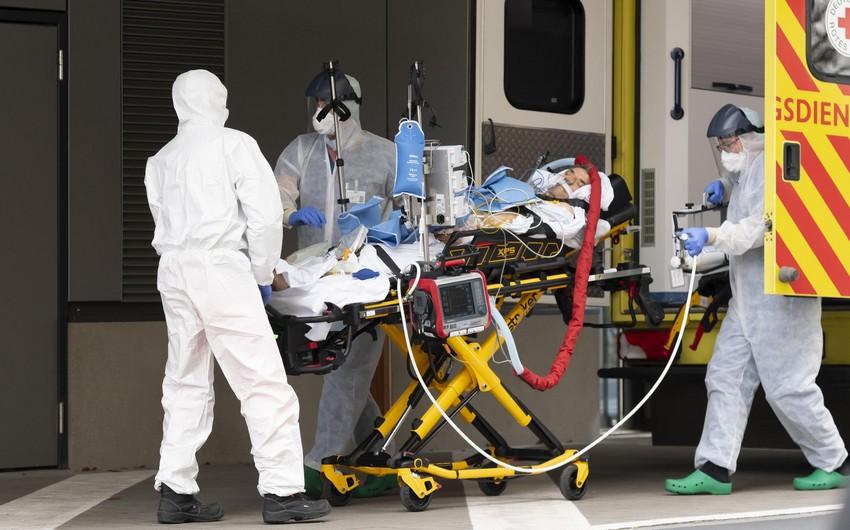 Almaniyada koronavirusdan sutkalıq ölüm sayında rekord qeydə alındı