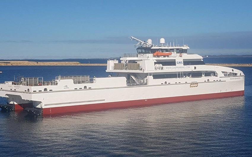 Azərbaycana Avstraliyadan yeni gəmi gətiriləcək