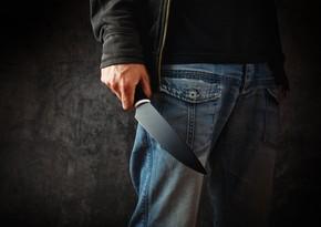 Bakıda 40 yaşlı kişi bıçaqlanıb