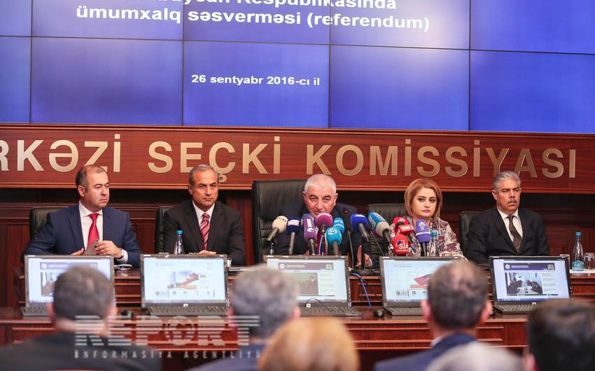 В Азербайджане началось всенародное голосование (референдум)