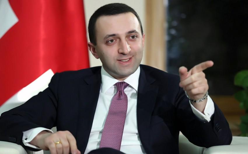 Qaribaşvili: Gürcüstan, Azərbaycan və Türkiyənin çox böyük potensialı var