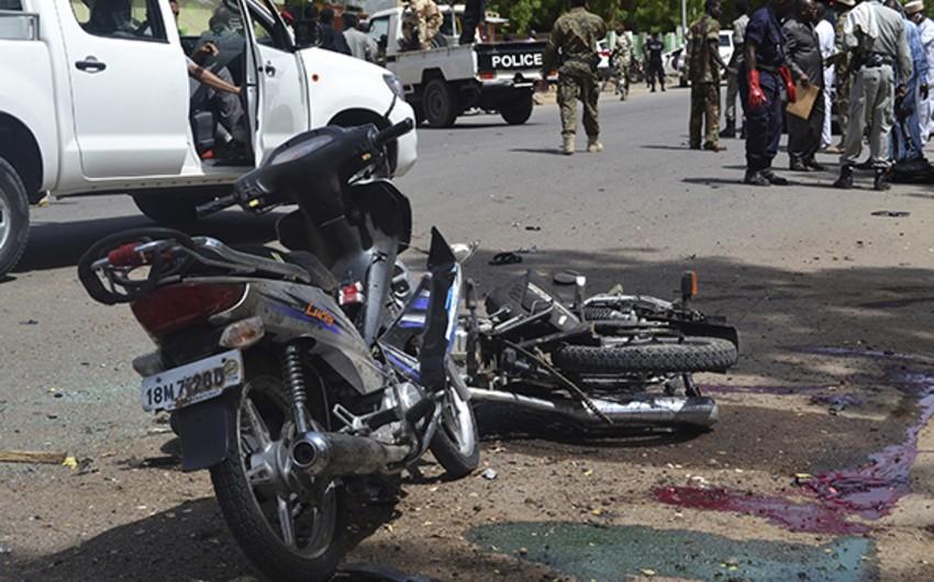 Çadda terror aktı zamanı 3 nəfər ölüb, 14 nəfər yaralanıb