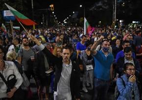 Участники антиправительственных протестов вновь перекрыли улицы Софии