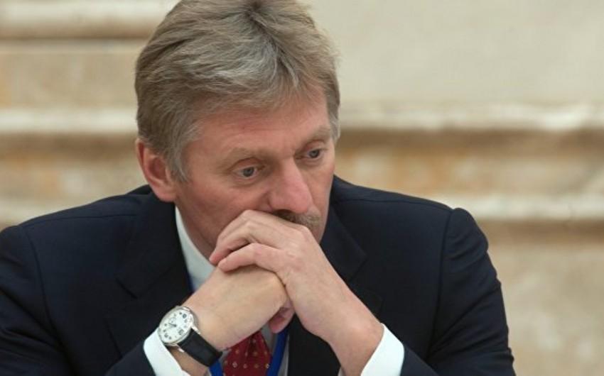 Peskov: Rusiya Qarabağ münaqişəsinin nizamlanması istiqamətində səylər göstərir