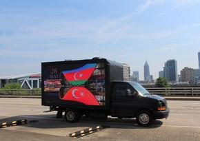 Азербайджанцы провели акции в трех городах США