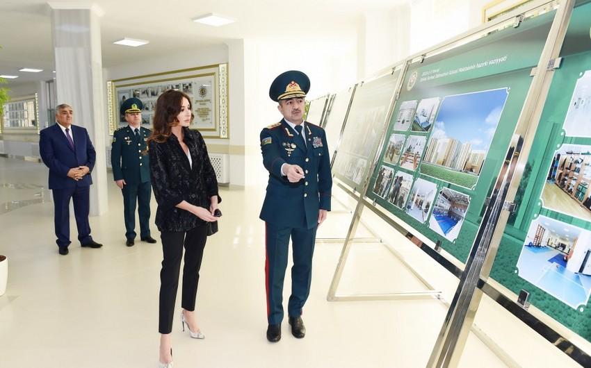 Birinci vitse-prezident DSX-nın Xüsusi Məktəbinin yeni tədris korpusunun açılışında iştirak edib