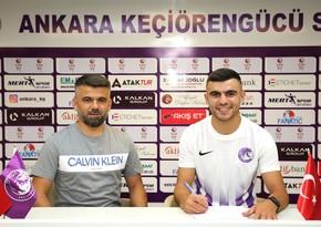 Türkiyə klubu azərbaycanlı futbolçunun keçidini açıqladı