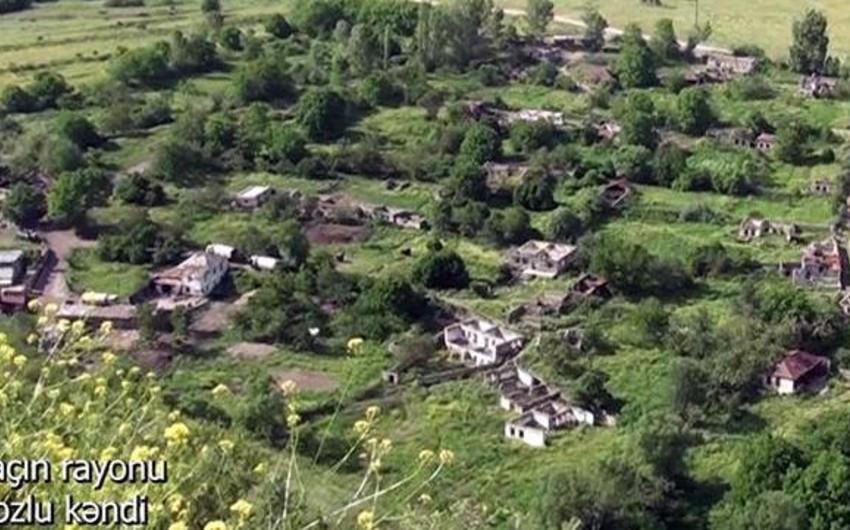 Laçının Bozlu kəndi -