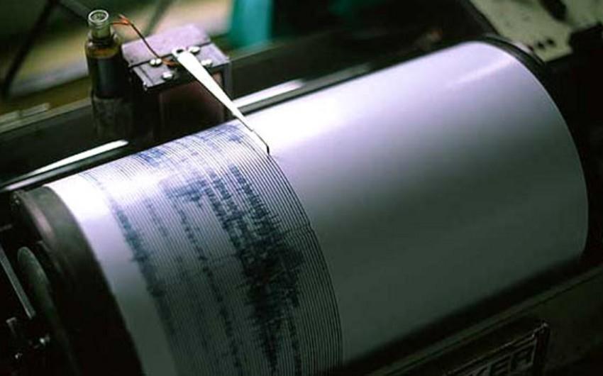 Earthquake occurrs in Gabala region, Azerbaijan