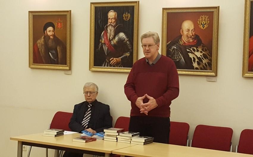 Litvada Ermənistanın işğalçılıq siyasətindən bəhs edən kitabların təqdimatı keçirilib