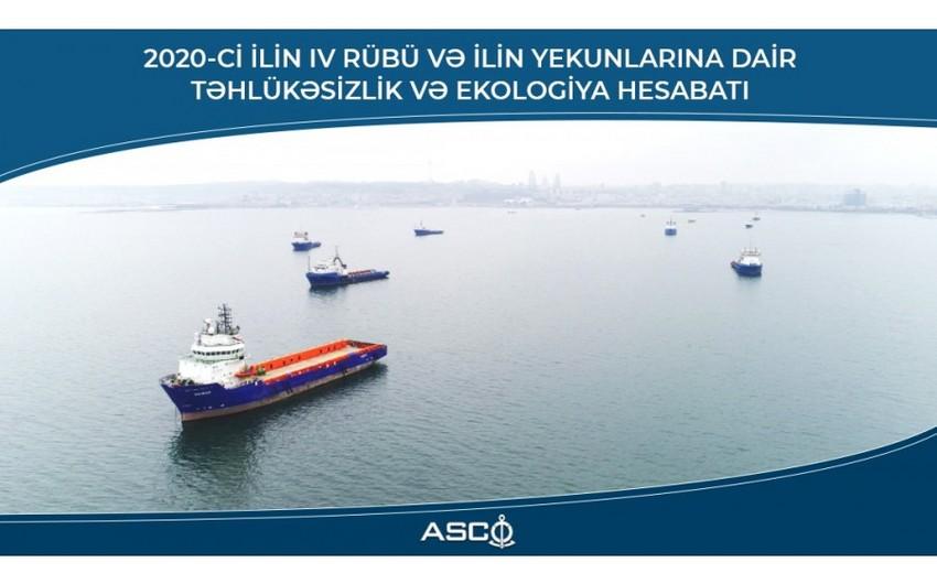 ASCO опубликовал отчет по безопасности и экологии по итогам года