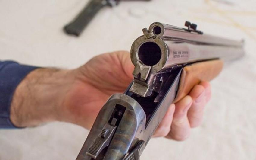 Göyçayda sakinlərdən silahlar götürüldü