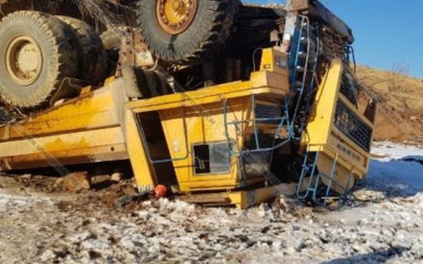 На медном руднике в Армении произошла авария, погиб один человек