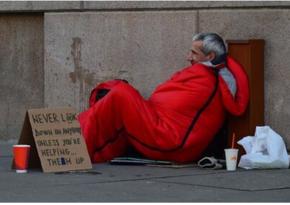 В Лондоне бездомным предложат двухнедельное проживание в отеле