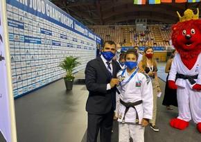 European Championship: Azerbaijani judoka wins silver