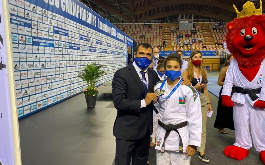 Чемпионат Европы: азербайджанская дзюдоистка завоевала серебро