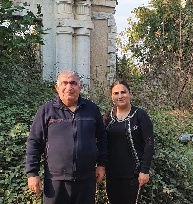Шакир Гаджиев и Зибейда Адильзаде