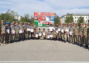 Azərbaycan Ordusunda keçirilən səmti müəyyənetmə yarışları yekunlaşıb