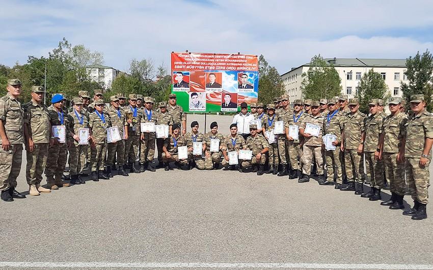 В армии Азербайджана завершились состязания по ориентированию на местности